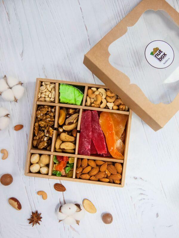 Подарочный набор орешков nutsbox №10 - подарок белочки